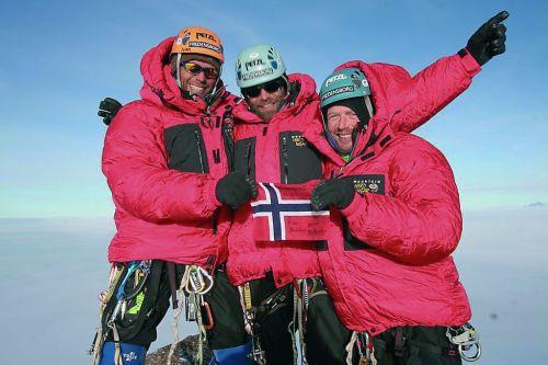 Norwegowie na szczycie